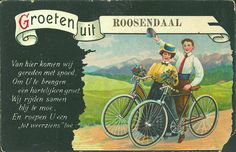 Groeten uit Roosendaal, kaart uit circa 1900.