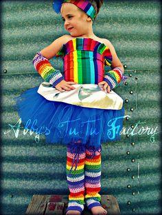 Rainbow costume :)