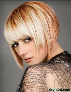 Good hair color ideas for short hair Summer 2014.  I love the piecey ends