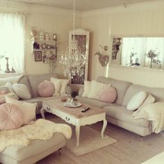 Top 20 Dreamy Shabby Chic Living Room Designs Homesthetics   Homesthetics    Inspiring Ideas For Your Home. Part 92