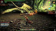 Monster Hunter Online Beta test the ultima boss Lioleia