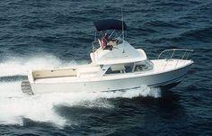 classic fiberglass bertram boat photo image