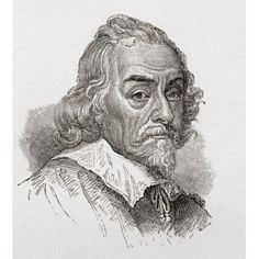 William Harvey 1578 To 1657 English Physician From The Book Short History Of The English People By JR Green Published London 1893 Canvas Art - Ken Welsh Design Pics (13 x 15)