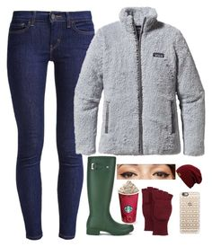 """""""Christmas Lights"""" by evieleet ❤ liked on Polyvore featuring Hunter, Levi's, Patagonia, Casetify, Neiman Marcus, Benefit and southernchristmas"""