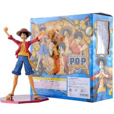 Anime One Piece Portrait Of Pirates Monkey D Luffy Sailing Again The New World PVC Action Figure Collectible Model Toy Doll One Piece Merchandise, Action Figure One Piece, Doll Toys, Dolls, Monkey D Luffy, One Piece Anime, Pirates, Action Figures, Portrait