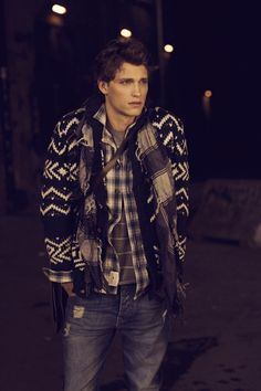 cosy winter look #cardigansweateroverbuttondownovert-shirt