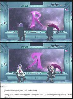 Team Rocket what .-.?! Hahahaha