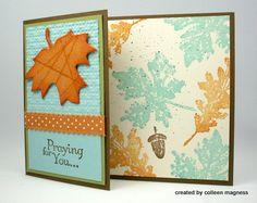Thanksgiving Leaf card