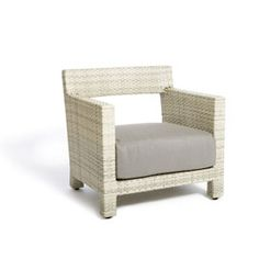 Sophisticated outdoor lounging is a breeZZ when high caliber design meets skilled craftsmanship. Plush cushion upholstered in durable Sunbrella fabric tops off this smartly crafted lounge chair - breeZZ lounge chair design for Jane Hamley Wells.