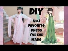 DIY Favorite Chinese Dress I Have Ever Made+ Where to Get Beautiful Fashion Inspirations? Japanese Geisha, Japanese Kimono, Sewing Patterns, Sewing Ideas, Sewing Projects, Diy Projects, Cosplay Diy, Hanfu, Diy Dress