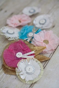 Little paper decorations make everything more special