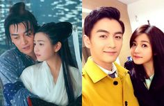 "Falling in love after filming ""Return of the Condor Heroes"", Michelle Chen and Xiao Chen have been dating for months."