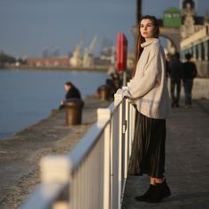 Get this look: http://lb.nu/look/8611903  More looks by Paris & London -: http://lb.nu/themadtwins  Items in this look:  H&M Sweather, H&M Skirt, New Look  Shoes   #elegant #street #vintage