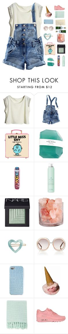 """♡ SOMETiMES i'M MiLDLY PSYCHOTiC"" by wont-stop-loving-queen-rydel ❤ liked on Polyvore featuring H&M, Olympia Le-Tan, ODD FUTURE, Drybar, NARS Cosmetics, France Luxe, Chloé, 2Me Style, Surya and NIKE"