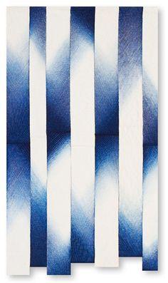Shibori, Japanese Quilts, Japanese Art, Cyanotype, How To Dye Fabric, Art Sketchbook, Op Art, Abstract Pattern, Traditional Art