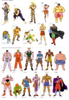 The Art of Street Fighter - Capcom Street Fighter 2, Capcom Street Fighter, Street Fighter Characters, Character Concept, Character Art, Character Design, Concept Art, Street Fights, Video Game Characters