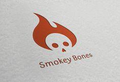 Smokey Bones BBQ logo by Elizabeth Perez