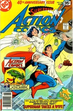 Action Comics n°484, June 1978, cover by Jose Luis Garcia-Lopez and Dick Giordano.