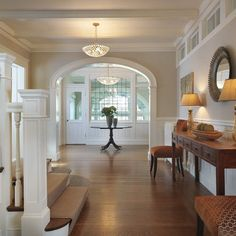 White Painted Staircase Railing Design, Pictures, Remodel, Decor and Ideas - page 40