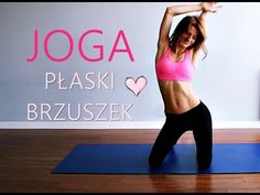 (5) Joga na Płaski Brzuch ♥ 15-minutowy Trening Brzucha - YouTube At Home Workout Plan, At Home Workouts, Arm Workouts Without Weights, Lose Arm Fat Fast, Yoga Fitness, Health Fitness, Health Trends, Stay Fit, Personal Trainer