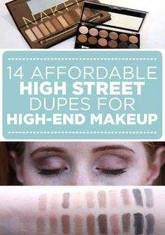 14 Insanely Affordable High Street Dupes For High-End Makeup