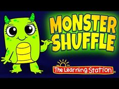 Monster Shuffle 👻 Halloween Dance Songs for Kids 👻 Halloween Songs by The Learning Station - YouTube