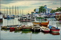 o porto turistico - Salvador - Brazil