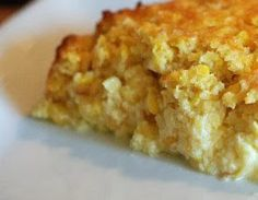 Sweet Corn Pudding - Hope Studios Sweet Corn Pudding, Corn Pudding Recipes, Easy Corn Casserole, Side Dish Recipes, Side Dishes, I Love Food, Sweet Tooth, Cooking Recipes, Vegetarian Recipes
