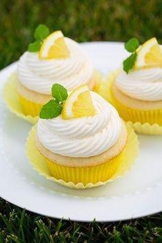 Zesty Lemon Cupcakes - cookingclassy.com