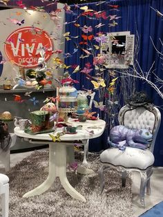 Alice in Wonderland Tea Party | Viva Decor booth at CHA 2013
