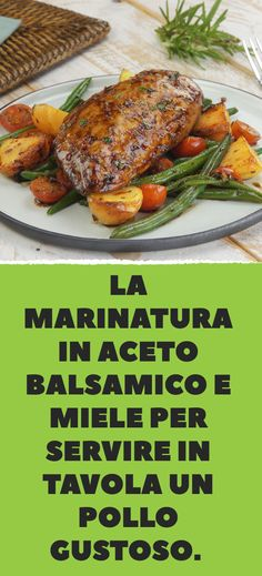 Honey balsamic chicken in homemade marinade brings only the best to the . , Honey balsamic chicken in homemade marinade brings only the best to the table. Honey Balsamic Chicken, Balsamic Chicken Recipes, Chicken Recipes For Kids, Casserole Dishes, Casserole Recipes, High Fiber Foods, Eating Eggs, How To Cook Potatoes, Eating Clean