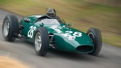 Vanwall VW14RE by Andrew Lofthouse