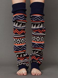 GIANT Leg-warmers., would be so cute with boots!