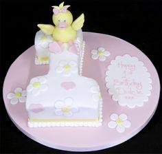 Kuchen Mädchen-Motivtorte 1.Geburtstag baby schöne Form