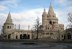 Fisherman's Bastion - Budapest, Hungary
