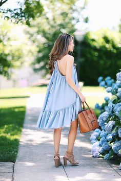 Chambray Dress + New Hair Product – Southern Curls & Pearls Fall Outfits, Cute Outfits, Fashion Outfits, Fashion Fashion, Fashion Ideas, Vintage Fashion, New Dress, Lace Dress, Southern Curls And Pearls