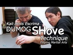Kali EMPTY-HANDS Technique - Dumog Arm Shove - Panantukan Techniques. Filipino martial arts