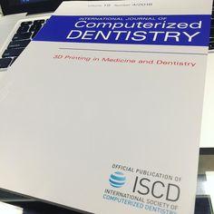 Chegou! Estudar é sempre preciso. Mantendo os conhecimentos atualizados sobre as tecnologias 3D que resultam em melhores tratamentos para nossos pacientes. #dentistasp #dentista #ceramica #lentesdecontatodental #3dprinting