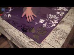 Как сделать пескоструйный рисунок на зеркале своими руками (Аналог)