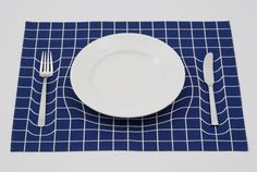 Spacetime curvature placemats - Boing Boing