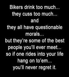 Here are: 150 more Biker Quotes Next Page Biker Chick, Biker Girl, Motorcycle Humor, Bike Humor, Biker Love, Riding Quotes, Bike Quotes, Harley Bikes, Harley Davidson News