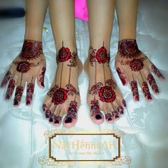 Henna art made from heart in bandar lampung. By nay henna art