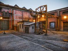 TrainScape: New Diorama. Fotos nocturnas 2º Jose Manuel Gomez Garcia