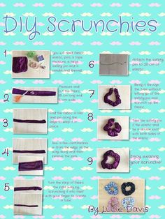 Projects for You to Make a Pretty Scrunchie Projects to Try DIY Projects for You to Make a Pretty Scrunchie - Pretty Designs . Projects to Try DIY Projects for You to Make a Pretty Scrunchie - Pretty Designs . Cute Sewing Projects, Sewing Projects For Beginners, Sewing Hacks, Sewing Tutorials, Sewing Crafts, Projects To Try, Sewing Tips, Diy Crafts, Hair Tutorials