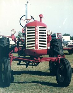 Cockshutt tractor at Georgia National Fair c1995.