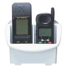 BoatMates Nautical Storage Solutions GPS/Cell Phone Caddy white-33293 - Gander Mountain