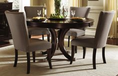 Drop Leaf Table With Folding Chairs Stored Inside