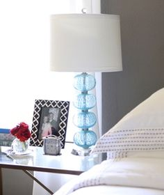 #HomeGoodsHappy lamps freshen up every bedside table quickly and on a budget!