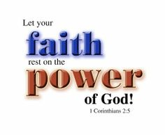 #faith #power #Christ