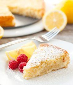 Cheesecake Swirled Lemon Butter Cake - Cooking Classy